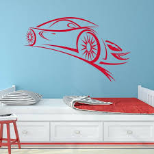 Style And Apply Abstract Sports Car Wall Decal Wayfair