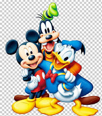 mickey mouse minnie mouse pluto goofy