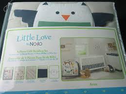 nojo little love aztec 5piece crib