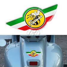 3d Motorcycle Decal Italy Flag Bee Stickers Case For Piaggio Vespa Gts150 Gts 250 Gts300 Gts Gtv 150 125 250 300 300ie Wish