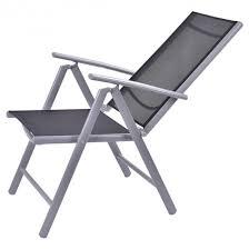 2 x patio folding chairs adjustable