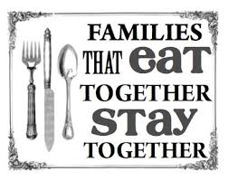 staying together quotes try als families that eat together