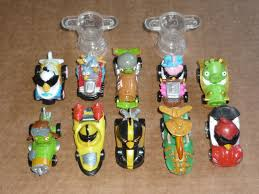 Angry Birds Go Telepods Kart Racers Lot 10 Cars with QR Codes & 2 Trophy  Stands