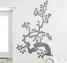 Asian Tree Branch Wall Sticker Tenstickers