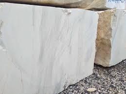 Volakas White Natural Marble Stone Blocks