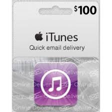 100 usa itunes gift card email delivery