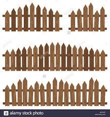 Background Border Cartoon Decoration Design Enclosure Fence Stock Vector Image Art Alamy