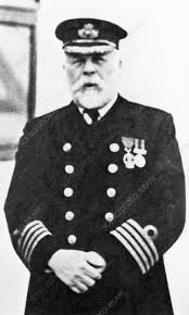 Edward Smith, Captain of the liner Titanic - Stock Image - H419/0208 -  Science Photo Library