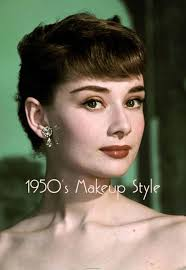 vine make up 1950 s beauty