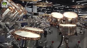Alex van Halen 2015 Tour drums - YouTube