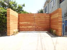Horizontal Wood Driveway Gate Wood Gates Driveway Fence Gate Design Wooden Gates Driveway