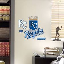 Kansas City Royals Logo Wall Vinyl Wall Decals Wall Decor Stickers