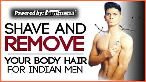 how to shave and remove men s body hair