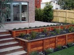 raised flower beds i like the terraced