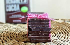 homemade chocolate bars just 3