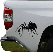 Amazon Com Rosie Decals Black Widow Spider Die Cut Vinyl Decal Sticker For Car Truck Motorcycle Window Bumper Wall Decor Size 6 Inch 15 Cm Wide Color Matte Black Home Kitchen
