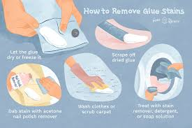 glue and adhesives sns from clothes