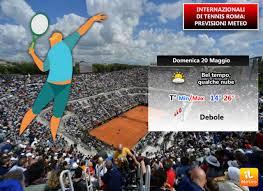 Meteo: 20 Maggio FINALI degli Internazionali di tennis a Roma al Foro  Italico » ILMETEO.it