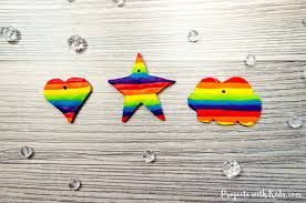 make beautiful rainbow jewelry for kids