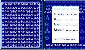 Invitaciones De Cumpleanos Infantiles De Frozen Disenos Con