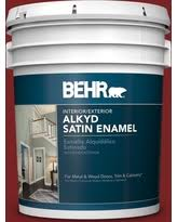 Amazing Deals On Behr 5 Gal Red Exterior Barn And Fence Paint