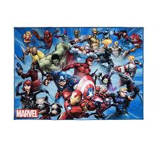 Marvel 4 X 6 Super Heroes Indoor Kids Area Rug In The Rugs Department At Lowes Com