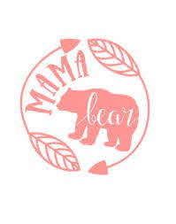 Mama Bear Decal Car Decal Cup Decal Mommy Mom By Thelittlepines Bear Decal Mama Bear Decal Cricut Projects Vinyl