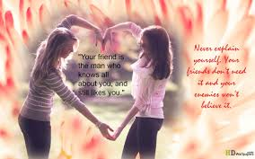 friend to friend quotes quotesgram