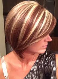 short red hair with blonde highlights