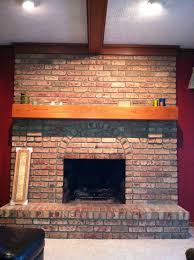 red brick fireplace ideas to update