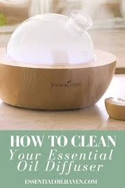 clean your essential oil diffuser