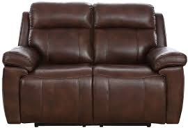 2 seater manual recliner sofa leather