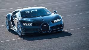 bugatti chiron 2016 blue supercar