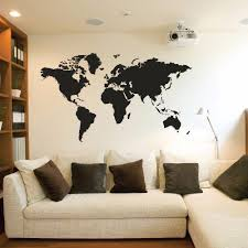 Creative World Map Vinyl Stickers Living Room Bedroom Decoration Wall Decals Removable Mural Home Decor Y200103 Bed Wall Decals For Sale Wall Decals For The Home From Shanye10 21 19 Dhgate Com