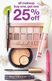 target makeup one get one 25 off