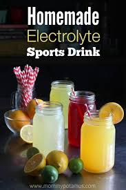 diy electrolyte sports drink recipe