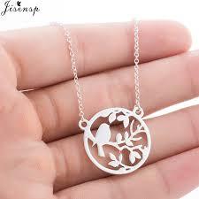 fashion branch leaf necklace cute tiny
