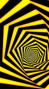 3d yellow black hd wallpaper 1080x1920