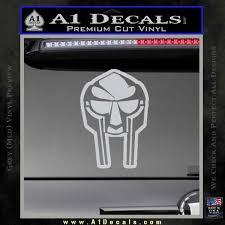 Mf Doom Mask D2 Decal Sticker A1 Decals