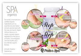 organic nails and spa menu papillon