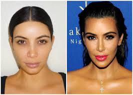 kim kardashian without makeup see the