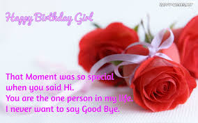 top happy birthday to a girl you like awesome greeting hd