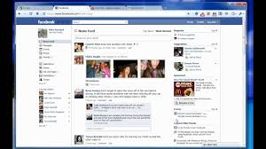 NEW Facebook (Home Page Layout) What do you think? - YouTube
