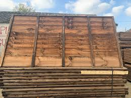 5 X 6 Rustic Waney Fence Panel Rhino Building Supplies