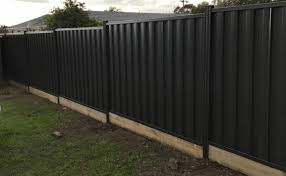 Colorbond Fence With Sleepers Fencing Quotes Online Free Quotes