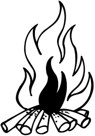 Signspecialist Com Beevault Decals Campfire Vinyl Sticker Customize On Line Fires And Smoke 037 0061