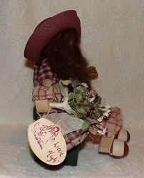 "VINTAGE LIZZIE HIGH DOLL ""Abigail Bowman"" Whimsical Wooden Folk Art #1199 -  $12.99 | PicClick"