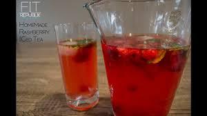 raspberry iced tea healthy recipes