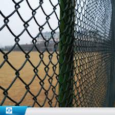 China Pvc Gi Coated Chain Link Fence Wire Mesh Fencing China Pvc Chain Link Fence Gi Wire Fence