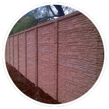 Concrete Walls Palisade Fence Precast Extensions Repairs Double Sided Shere Pretoria Alfa Concrete Walls